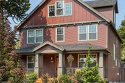 Craftsman Style House Plan - 3 Beds 2.5 Baths 1925 Sq/Ft Plan #48-489 Exterior - Front Elevation