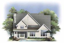 House Plan Design - Craftsman Exterior - Rear Elevation Plan #929-804