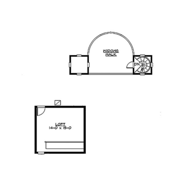 Craftsman Floor Plan - Other Floor Plan #132-565