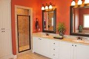European Style House Plan - 3 Beds 2 Baths 1952 Sq/Ft Plan #430-72 Interior - Master Bathroom