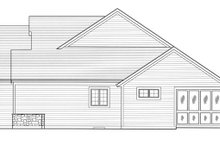Architectural House Design - Colonial Exterior - Other Elevation Plan #46-792