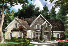 Country Exterior - Front Elevation Plan #952-181