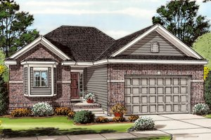 1200 square foot 2 bedroom 2 bath traditional house plan