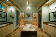 Craftsman Style House Plan - 4 Beds 4.5 Baths 3773 Sq/Ft Plan #54-386 Interior - Master Bathroom