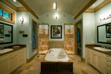House Plan Design - Craftsman Interior - Master Bathroom Plan #54-386