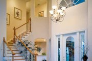 Mediterranean Style House Plan - 4 Beds 3.5 Baths 3792 Sq/Ft Plan #930-50 Interior - Entry