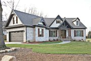 Craftsman Style House Plan - 3 Beds 2.5 Baths 2404 Sq/Ft Plan #119-369 Exterior - Front Elevation