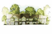 Traditional Style House Plan - 13 Beds 9 Baths 6530 Sq/Ft Plan #1042-11 Exterior - Front Elevation