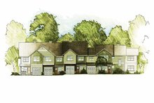 Traditional Exterior - Front Elevation Plan #1042-11