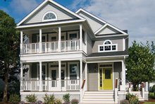Architectural House Design - Country Exterior - Front Elevation Plan #929-518