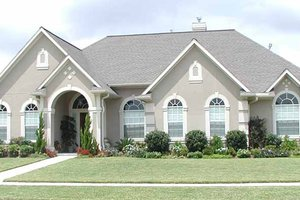 Home Plan - Country Exterior - Front Elevation Plan #968-28