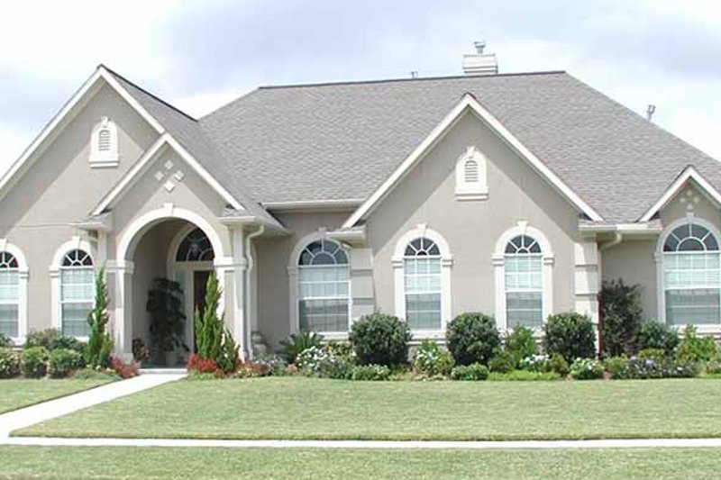 Country Exterior - Front Elevation Plan #968-28 - Houseplans.com