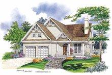 Craftsman Exterior - Front Elevation Plan #929-318