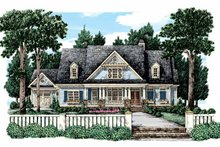 Home Plan - Country Exterior - Front Elevation Plan #927-321