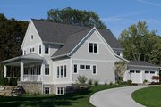 Country Style House Plan - 3 Beds 3.5 Baths 2963 Sq/Ft Plan #928-278 Exterior - Front Elevation