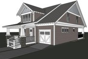Craftsman Style House Plan - 3 Beds 2.5 Baths 2100 Sq/Ft Plan #461-25 Exterior - Other Elevation
