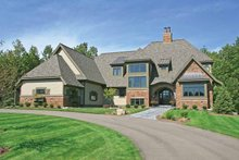 House Plan Design - European Exterior - Front Elevation Plan #928-180