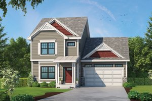 Traditional Exterior - Front Elevation Plan #20-2340