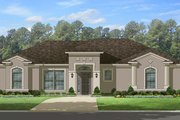 Mediterranean Style House Plan - 3 Beds 2 Baths 1775 Sq/Ft Plan #1058-113