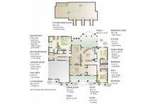 Country Floor Plan - Main Floor Plan Plan #406-9629