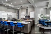 Contemporary Style House Plan - 5 Beds 5.5 Baths 7466 Sq/Ft Plan #930-513 Interior - Kitchen