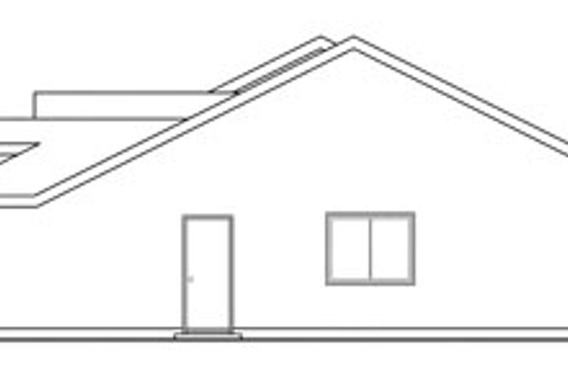 Exterior - Other Elevation Plan #124-807 - Houseplans.com