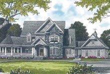 House Plan Design - Victorian Exterior - Front Elevation Plan #453-232