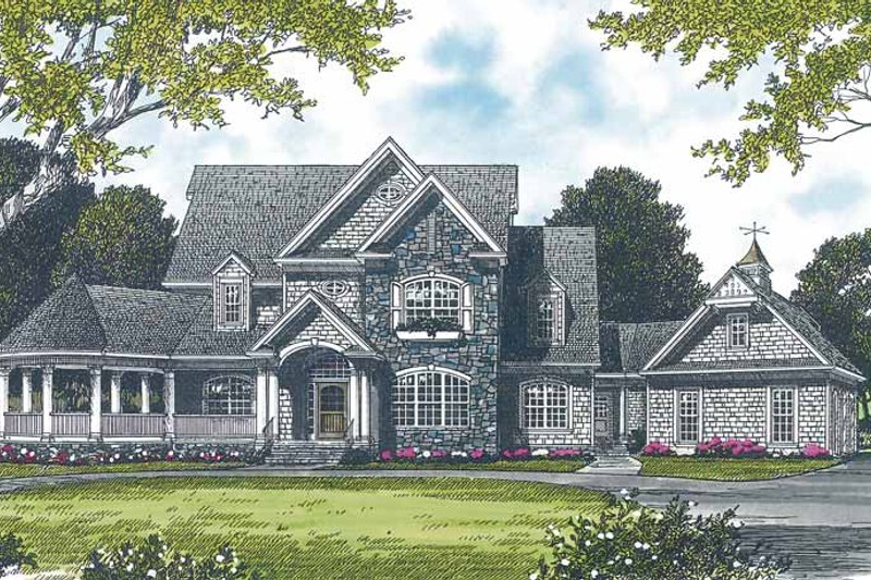 House Design - Victorian Exterior - Front Elevation Plan #453-232