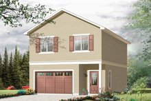 House Plan Design - Traditional Exterior - Front Elevation Plan #23-2420