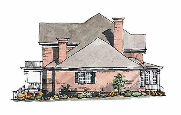 Classical Floor Plan - Other Floor Plan Plan #429-189