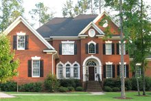 Dream House Plan - Classical Exterior - Front Elevation Plan #1054-64