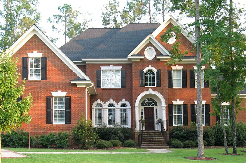 Home Plan - Classical Exterior - Front Elevation Plan #1054-64