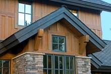 Dream House Plan - Craftsman detailing photo