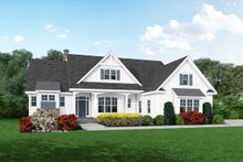 Dream House Plan - Farmhouse Exterior - Front Elevation Plan #929-1114
