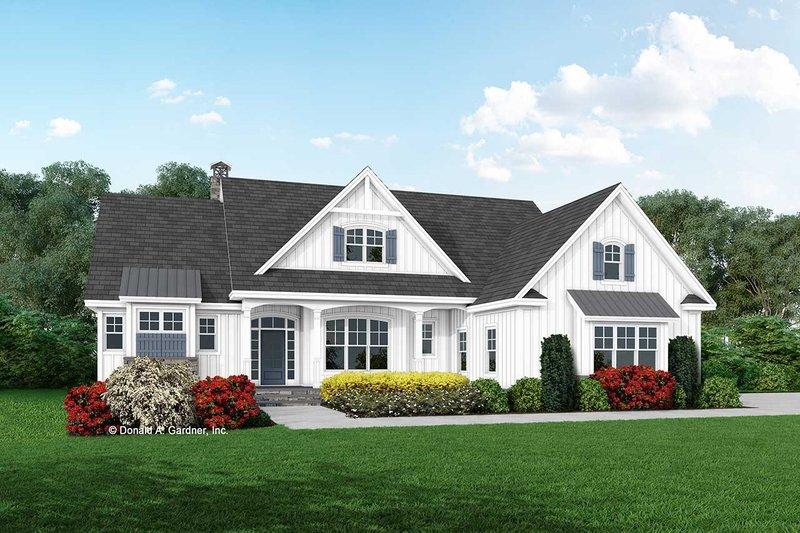 House Plan Design - Farmhouse Exterior - Front Elevation Plan #929-1114