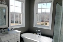 Country Interior - Master Bathroom Plan #929-527