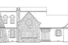 Dream House Plan - Colonial Exterior - Rear Elevation Plan #137-219