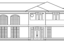 Exterior - Other Elevation Plan #124-646