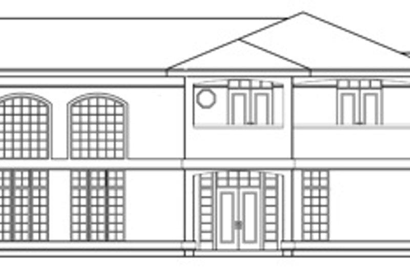 Exterior - Other Elevation Plan #124-646 - Houseplans.com