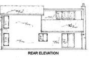 Modern Style House Plan - 3 Beds 2 Baths 1456 Sq/Ft Plan #421-146