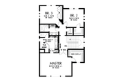 Contemporary Style House Plan - 3 Beds 2.5 Baths 2498 Sq/Ft Plan #48-991 Floor Plan - Upper Floor Plan