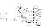 Tudor Style House Plan - 5 Beds 6 Baths 6475 Sq/Ft Plan #413-127 Floor Plan - Main Floor