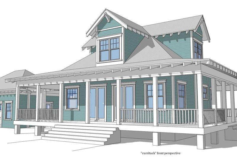 Farmhouse Photo Plan #64-208 - Houseplans.com