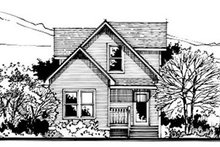 Dream House Plan - Country Exterior - Front Elevation Plan #50-234