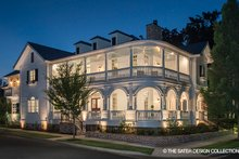 Dream House Plan - Classical Exterior - Front Elevation Plan #930-460