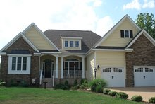 House Plan Design - Country Exterior - Front Elevation Plan #927-131