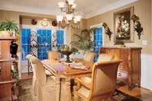 Dream House Plan - Country Interior - Dining Room Plan #429-258