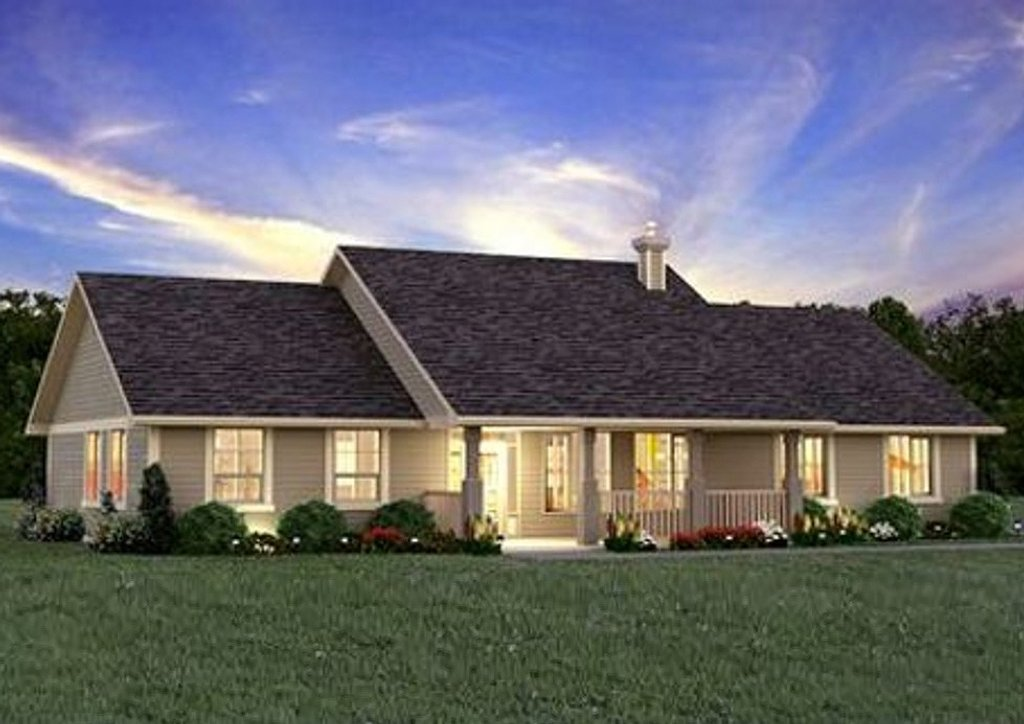 Ranch style house plan 3 beds 2 baths 1924 sq ft plan for Craftsman style homes for sale in maryland