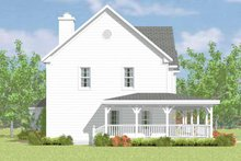 House Blueprint - Victorian Exterior - Other Elevation Plan #72-1090