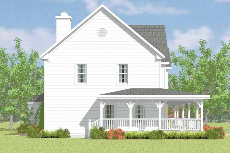 Dream House Plan - Victorian Exterior - Other Elevation Plan #72-1090